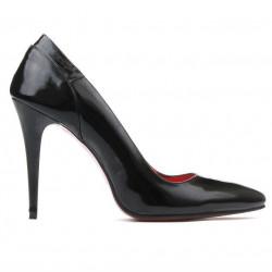 Pantofi eleganti dama 1230 lac negru