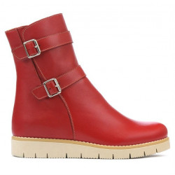 Women boots 3321 red