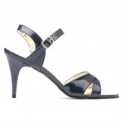 Women sandals 1240 patent indigo