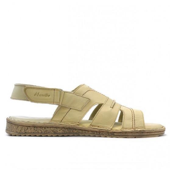 Sandale barbati 331 bej