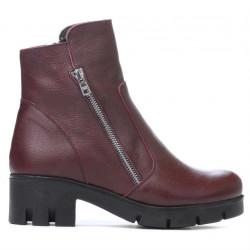 Women boots 3322 bordo