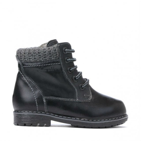 Small children boots 29c black