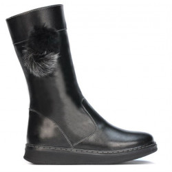 Children knee boots 3011 black