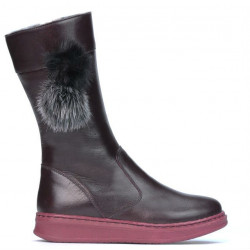 Cizme copii 3011 bordo