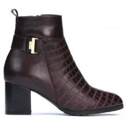 Women boots 1169 bordo