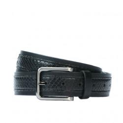 Men belt 18b black+sarpe black