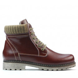 Women boots 3269 bordo