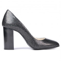 Women stylish, elegant shoes 1269 piton black