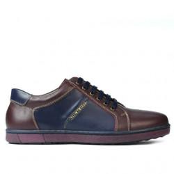 Pantofi sport barbati 849 bordo+indigo