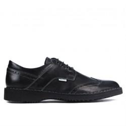Men casual shoes (large size) 7204m black