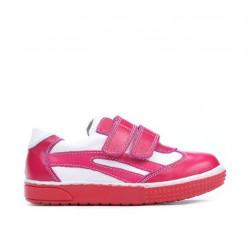 Pantofi copii mici 16-3c roz+alb