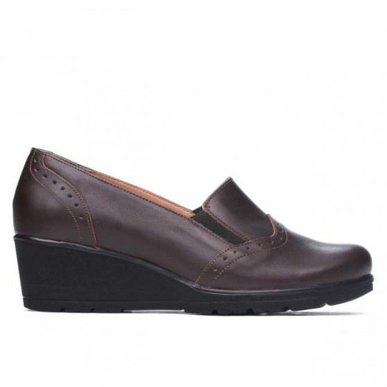 Pantofi casual dama 697xxl cafe