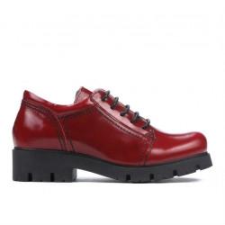 Pantofi copii 158 lac visiniu