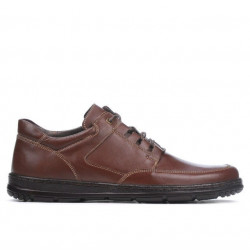 Men casual shoes 887 brown