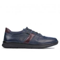 Men sport shoes 885 indigo+bordo