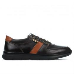 Men sport shoes 885 cafe+brown