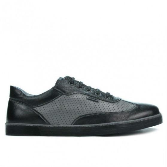 Pantofi sport barbati 886 negru combinat