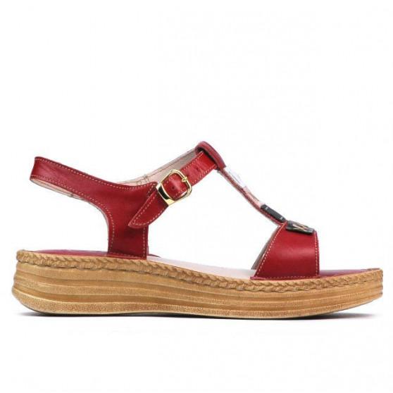 Sandale dama 5040-1 rosu