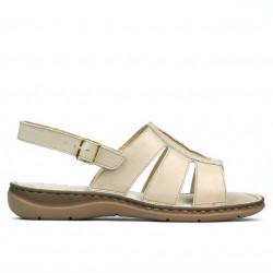 Women sandals 5043 beige