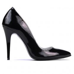 Pantofi eleganti dama 1241 lac negru