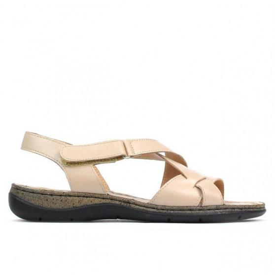Sandale dama 5047 bej