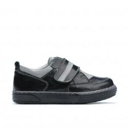 Pantofi copii mici 64c negru combinat