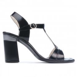 Women sandals 5055 patent black