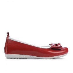 Children shoes 141 patent red