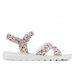 Women sandals 5049 floral multicolor