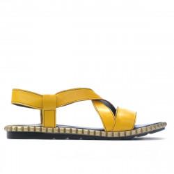 Women sandals 5050 yellow
