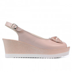 Women sandals 5053 pudra