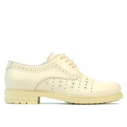 Pantofi casual dama 6001 bej