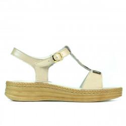 Women sandals 5040-1 beige