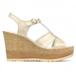 Women sandals 5054 golden