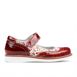 Children shoes 153 patent red