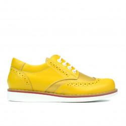 Pantofi copii 154 galben combinat