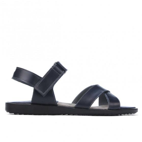 Sandale barbati 345 indigo