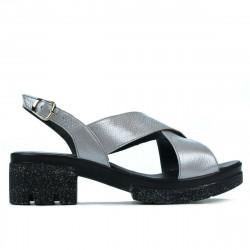 Women sandals 5052 silver