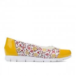 Pantofi copii 171 galben combinat
