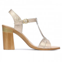 Women sandals 5055 golden