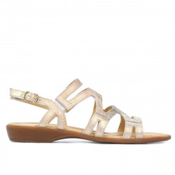 Women sandals 5056 golden