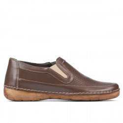 Women loafers, moccasins 6000 cappuccino