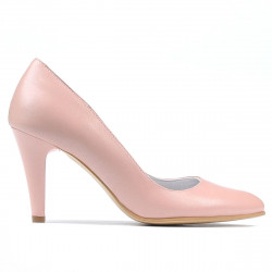 Pantofi eleganti dama 1234 pudra sidef