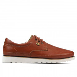 Men casual shoes 889 cognac