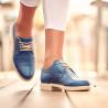 Pantofi casual dama 6001 albastru lifestyle