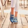 Pantofi casual dama 6001 albastru