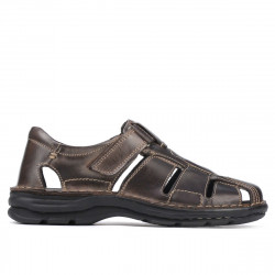 Men sandals 344 tuxon tdm (Testa di moro)