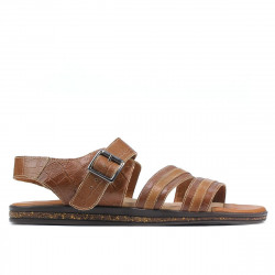 Men sandals 315 croco brown