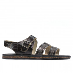 Men sandals 315 croco cafe