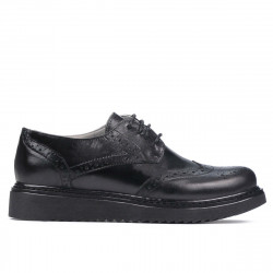 Women casual shoes 663-2 black